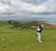 The first tee on the Strand Course at the Portstewart Golf Club provides a great view.