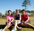 Women at Hammock Beach Resort in Florida get together for Women's Golf Day.