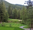 Don't be short on the dramatic par-3 sixth hole on the Championship Course at Incline Village.