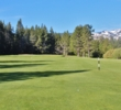 The first hole of the Lake Tahoe Golf Course is a gentle par 5.