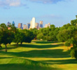 Renovated by Colligan Golf Design, the signature hole no doubt at Stevens Park is the par-4 15th with the Dallas skyline in the background.