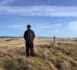 Architect Bill Coore surveys the site of the proposed Coul Links, located near Royal Dornoch in the Scottish Highlands.