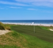The Atlantic Ocean was visible on the the fifth hole of the Ocean Links golf course at Omni Amelia Island Plantation.