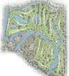Rees Jones' tentative layout for the new City Park course in New Orleans
