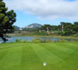 TPC Harding Park's back nine skirts the shores of Lake Merced and offers wonderful views of the surrounding city. (TPC Harding Park)