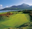 Not every day in the British Isles is as brilliant and clear as the one depicted here, at Royal County Down.