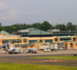 The design of Westchester County Airport (HPN) reminds more of a train station than an airport.