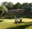 Austin Country Club's short par-3 17th hosts plenty of drama during the Match Play.