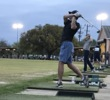 Because Memorial Park is centrally located and the range is lighted, it's Houston's most popular place to practice golf.