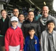 For all of these golfers, surrounding instructor Miguel Luna, Topgolf was their first golf experience. From left are (back row) Daniel Bain, Eddie Lei, Timothy Lei, Luna, M.J.Pence, (front row) Ryan Jack, Elson Lei and Matthew Lei.