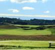 The back tee yardage at Eagle Nest eclipses even 2017 U.S. Open venue Erin Hills, whose 18th hole is seen above.