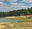 The new 14th hole at Pinehurst No. 4 as seen in mid-April, 2018.