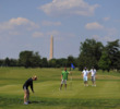 East Potomac Park is the most accessible option for public golf in Washington D.C.