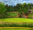 The Creek Club at Reynolds Lake Oconee, designed by Jim Engh, features some extreme greenside gathering slopes that reward indirect play.
