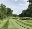 The par-5 17th at Bellerive Country Club plays just over 600 yards from the back tee, but some players in the PGA Championship will undoubtedly be able to reach the green in two.