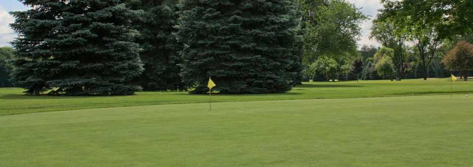 Winding Creek GC: Practice area
