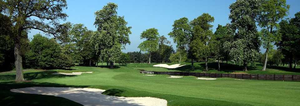 Brabazon Course: Sand traps and water hazard
