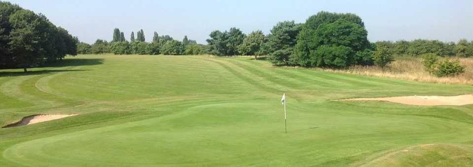 18th hole at Brandon Wood