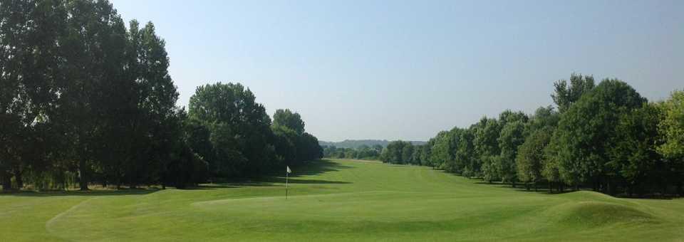 13th green at Brandon Wood