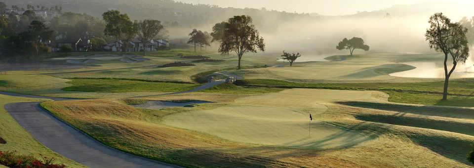 No.18 on Champions Course at Omni La Costa Resort & Spa