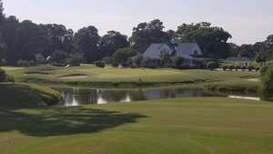 Valley at Eastport GC: 18th green