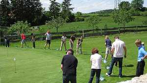 Sinsheim Buchenauerhof GC: putting green