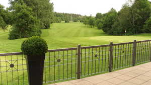 Ulm GC: clubhouse terrace