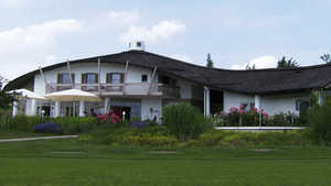 Schlossberg GC: clubhouse