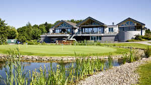 Hoesel GC: clubhouse