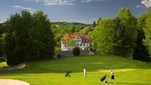 Schloss Georghausen GC: clubhouse