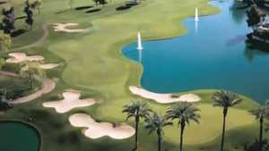 Arroyo at Gainey Ranch GC: Aerial view