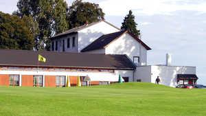 Rhein-Wied GC: clubhouse & #9