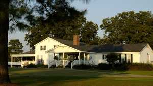 Reedy Creek GC: clubhouse