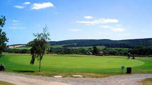 Schloss Meisdorf GC: practice area