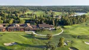 Medoc H & Spa GC: aerial view