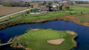 Tanna Farms GC: island green