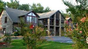 Pine Creek GC: clubhouse