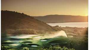 Argentario GC: Sunset