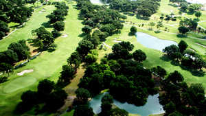 Lakeside CC: Aerial view