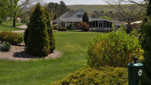 Sugarloaf GC: clubhouse