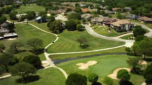 Riverhill CC: aerial view