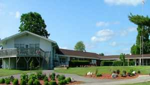 Lincoln GC: clubhouse