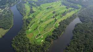 Quail Chase GC: aerial view