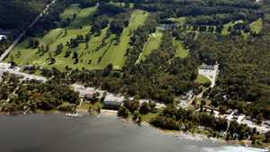 Pine View Highlands GC: aerial view