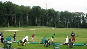 Bay Meadows GC: driving range