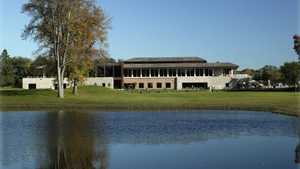 Oak Ridge CC: clubhouse