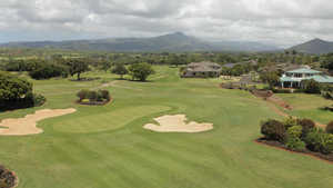 Kiahuna GC: Aerial view
