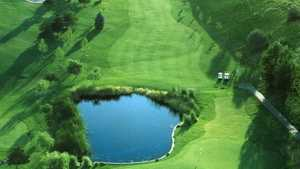 Canyon Lakes GC: #9 (aerial view)