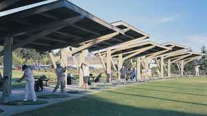 Meadow Park GC: driving range