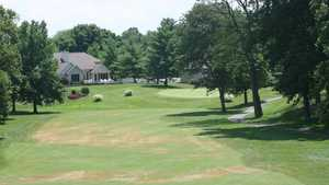 Greensburg CC: clubhouse